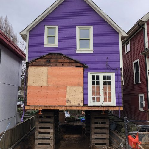 raising the roof of a house